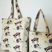 Комплект милых сумочек для мамы и дочки