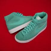 Кроссовки Nike Blazer High Green натур замша 38 разм