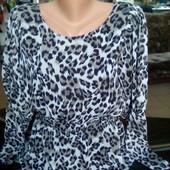 Блуза, шифоновая. Размер 38-40 евро.