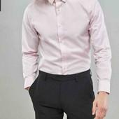 Стильная котоновая рубашка от Angelo Litrico на М-L размер 40