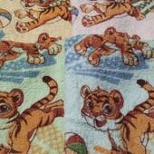Кухонные махровые полотенца 25х50 лот 2 шт