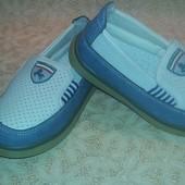 Детские новые мокасины туфли 25 р.15.5 см.