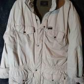 Куртка мужская бежевая  теплая