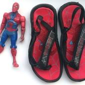 ▶▶▶Вьетнамки с человеком пауком Спайдермен Spiderman 17.5 см по стельке◀◀◀ уп 20%, нп 5% скидка!