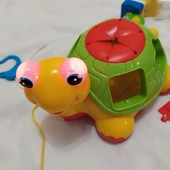Сортер черепаха-знайка интерактивная kiddieland