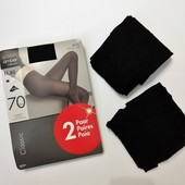Колготки Ellen Amber 70 den, в упаковке 2 шт!!!