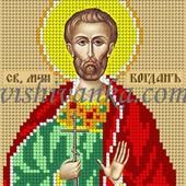 Схема для вышивки бисером на атласе Святий Богдан