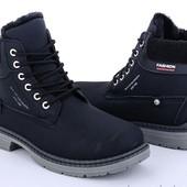 Мужские новые ботинки зима BDDS. Размер - 43(27.5см стелька).