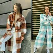 Хит!Пальто рубаха.Два цвета. Успей купить!