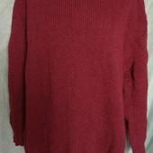 Теплый свитер,большого размера