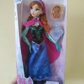 Лялька Анна від Disney, підвіска у комплекті. Анна дисней шарнирная. Оригінал