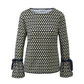 ☘ Стильна блуза з рукавами воланами від Tchibo (Німеччина), наші розміри: 42-44 (36/38 євро)