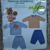Maui набор 2 шт. оригинальная хлопковая пижама для мальчика Lidl Lupilu Германия!