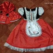 Шикарнейший наряд Красная Шапочка от TU 7-8л