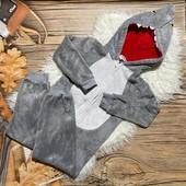 Тёпленький мягусенький плюшевый слип, кигуруми, пижама на 9/10 лет
