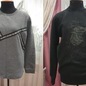 Теплые Свитшот,свитер,олимпийка известных тм H&M,М-L в идеальном сост.,один на выбор,смотрите замеры