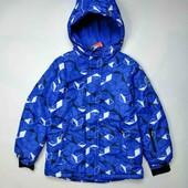 Термо куртка зимняя лыжная для мальчика Польша рост 128 см