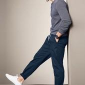 Комфортные брюки чинос от Tchibo (Германия), размер евро Л смотрим замеры