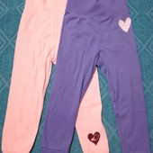 Лот 2 шт, штанишки для девочки Lupilu размер 86/92 (12-24 мес.) )