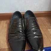 Туфли мужские лаковые