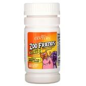 Детские Мультивитамины с большим содержанием витамина C, Zoo Friends, 60 шт
