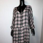 Качество! Стильное натуральное платье/рубашка от испанского бренда Easy Wear, новое состояние