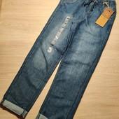 Польша!!! Стильные джоггеры для мальчика, джинсы для мальчика! 146 рост!