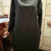 Теплое платье на пышных красоток