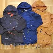 В сезон будут дороже! Модная куртка деми Grace на флисе с тонким синтапоном для мальчика 134-164 р