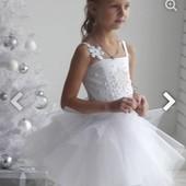 Нове. Плаття сніжинки+обруч
