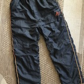 Теплі на флісі спортивні штани на зріст 146-152, див.заміри
