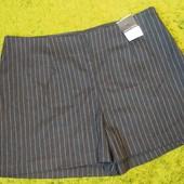 Стильные шорты Dorothy Perkins в полоску, размер 14