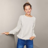 ☘ Шикарна яскісна блуза в офісному стилі від Tchibo (Німеччина), р.: 54-56 (48/50 евро)