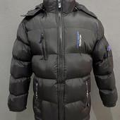 Теплая зимняя мужская куртка. Размер хл-3хл