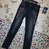 ❤В идеале!Роскошные джинсы с вышивкой от Promod!