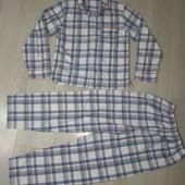 Хлопковая пижама р.152 в отличном состоянии