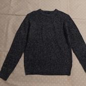 пог 53 см Мужской тёплый свитер !