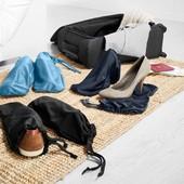 ☘Лот 6 шт☘ Комплект дорожніх сумок для взуття, дрібниці і білизни від Tchibo (Німеччина)