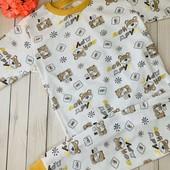 Пижамы детские р110,116,122 полномерки
