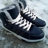 Утепленные спортивные ботинки 37,38,39