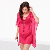 ☘ Ніжне парео-туніка рожевого кольору Tchibo (Німеччина), розмір наш: 44-50 (S/M євро)