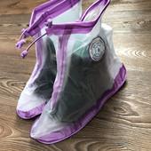 Чехлы на обувь от дождя