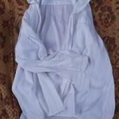 Белая рубашка 56 размер