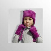 Уютные плюшевые перчатки от Tchibo Размер 134/158