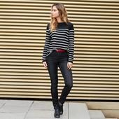 ☘ Стильні джинси з високою посадкою, що моделюють фігуру, Tchibo (Німеччина), р. наші: 44-48 (38 євр