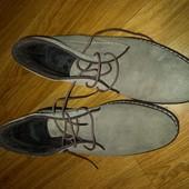 Натуральная замш ботинки от Andre