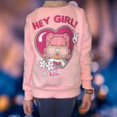Оригинал!Свитшот с начесом для девочки ,,LOL,, размер на выбор!Рекомендуем лично)