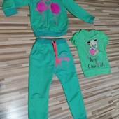 спортивный костюм комплект 4-5 лет