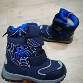 Зимние Термо ботинки На Молнии для мальчика.На молнии.Качество и модель супер!