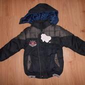 Деми курточка на мальчика прим 5-6 лет (точно см замеры)